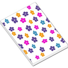 Candy Flowers Large Memo Pads by FashionMeNowwStyle2