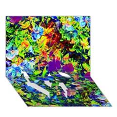 The Neon Garden Love Bottom 3d Greeting Card (7x5)