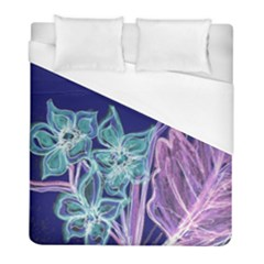 Bluepurple Duvet Cover Single Side (twin Size) by rokinronda