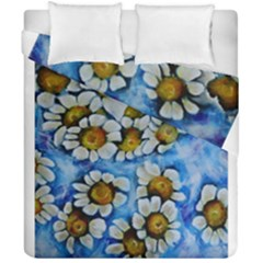 Floating On Air Duvet Cover (double Size) by timelessartoncanvas