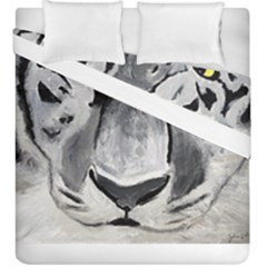 The Eye Of The Tiger Duvet Cover (king Size) by timelessartoncanvas