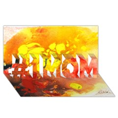 Fire, Lava Rock #1 Mom 3d Greeting Cards (8x4)  by timelessartoncanvas