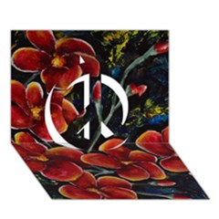 Hawaii Is Calling Peace Sign 3d Greeting Card (7x5)  by timelessartoncanvas