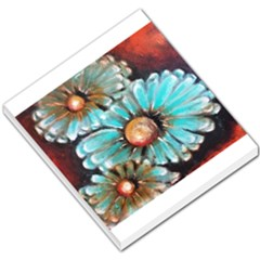 Fall Flowers No  2 Small Memo Pads by timelessartoncanvas