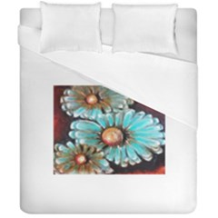 Fall Flowers No  2 Duvet Cover (double Size) by timelessartoncanvas