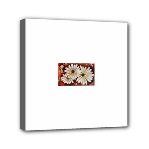 Fall Flowers No  3 Mini Canvas 6  X 6  by timelessartoncanvas
