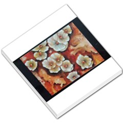 Fall Flowers No  6 Small Memo Pads by timelessartoncanvas