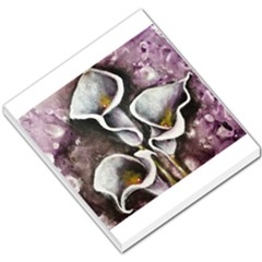 Gala Lilies Small Memo Pads by timelessartoncanvas