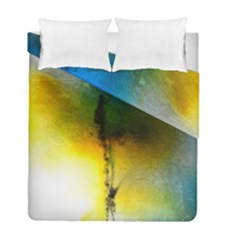 Watercolor Abstract Duvet Cover (twin Size) by timelessartoncanvas