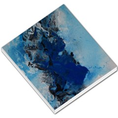 Blue Abstract No 2 Small Memo Pads by timelessartoncanvas