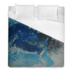 Blue Abstract No  6 Duvet Cover Single Side (twin Size)