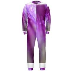 Purple Flower Pedal OnePiece Jumpsuit (Men)