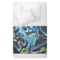 Man And Woman Duvet Cover Single Side (single Size) by timelessartoncanvas