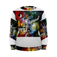 Abstract Music Painting Women s Sweatshirts