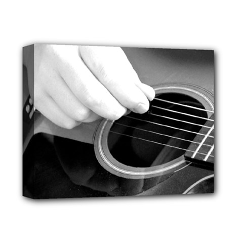 Guitar Player Deluxe Canvas 14  x 11  by timelessartoncanvas