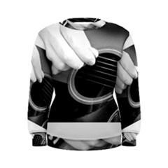 Guitar Player Women s Sweatshirts