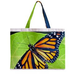 Butterfly 2 Zipper Tiny Tote Bags by timelessartoncanvas