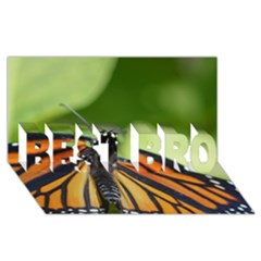Butterfly 3 Best Bro 3d Greeting Card (8x4)