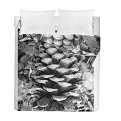 Pinecone Spiral Duvet Cover (Twin Size) by timelessartoncanvas