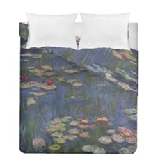 Claude Monet   Water Lilies Duvet Cover (Twin Size) by ArtMuseum