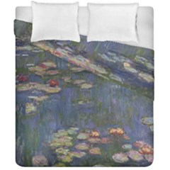 Claude Monet   Water Lilies Duvet Cover (Double Size) by ArtMuseum
