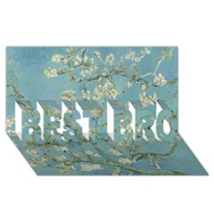 Almond Blossom Tree Best Bro 3d Greeting Card (8x4)  by ArtMuseum