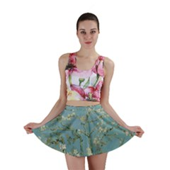 Almond Blossom Tree Mini Skirts by ArtMuseum