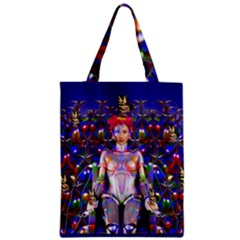 Robot Butterfly Classic Tote Bags by icarusismartdesigns