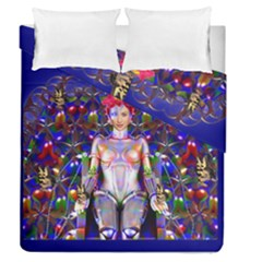 Robot Butterfly Duvet Cover (full/queen Size) by icarusismartdesigns