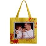 fall - Zipper Grocery Tote Bag