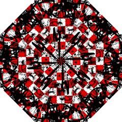 Emo Checker Graffiti Golf Umbrellas by ArtistRoseanneJones