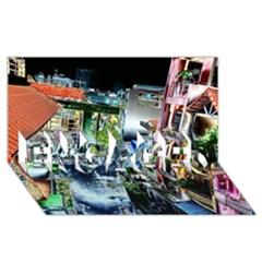 Colour Street Top Engaged 3d Greeting Card (8x4)  by InsanityExpressed