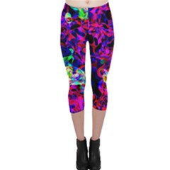 Electic Parasite Capri Leggings by InsanityExpressed