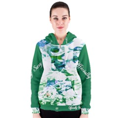 Officially Sexy Candy Collection Green Women s Zipper Hoodie
