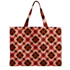 Cute Pretty Elegant Pattern Zipper Tiny Tote Bags