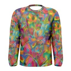 Colorful Autumn Men s Long Sleeve T Shirt