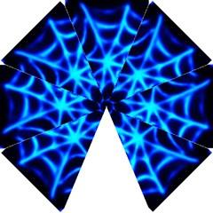 Neon Web Hook Handle Umbrellas (small) by rzer0x