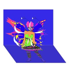 Fairy Punk Clover 3d Greeting Card (7x5)  by icarusismartdesigns