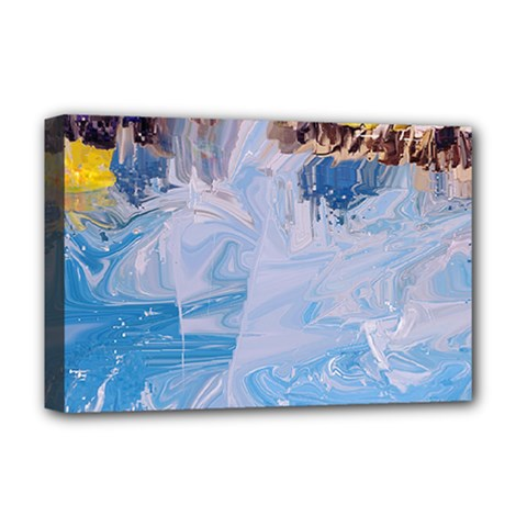 Splash 4 Deluxe Canvas 18  X 12   by icarusismartdesigns