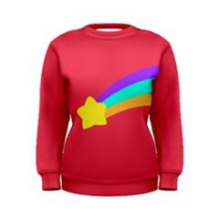 Shooting Star Women s Sweatshirts by ULTRACRYSTAL