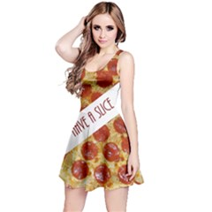 PepperoniPizza-Reversible Sleeveless Dress by BrandSnacks