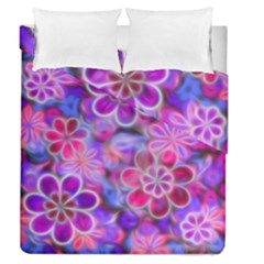 Pretty Floral Painting Duvet Cover (full/queen Size) by KirstenStar