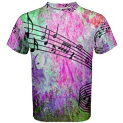 Abstract Music 2 Men s Cotton Tees by ImpressiveMoments