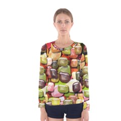 Stones 001 Women s Long Sleeve T Shirts by ImpressiveMoments