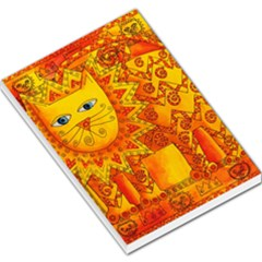 Patterned Lion Large Memo Pads by julienicholls