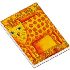 Patterned Leopard Large Memo Pads by julienicholls