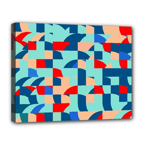 Miscellaneous Shapes Canvas 14  X 11  (stretched) by LalyLauraFLM