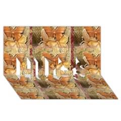 Butterflies Hugs 3d Greeting Card (8x4)