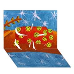 Rudolph The Reindeer Clover 3d Greeting Card (7x5)  by julienicholls