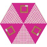 Pretty in Pink Umbrealla - Mini Folding Umbrella